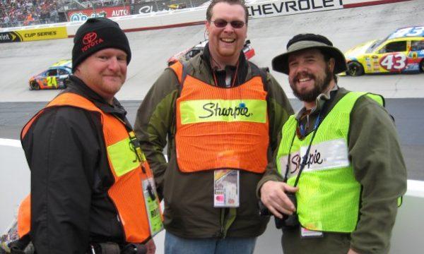 NASCAR Photographers at Bristol Motor Speedway